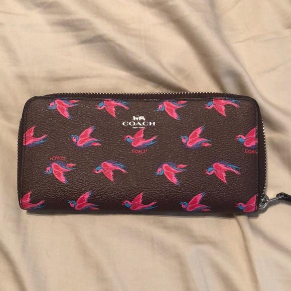 3256e4df8ca8 Coach sparrow wallet NWT